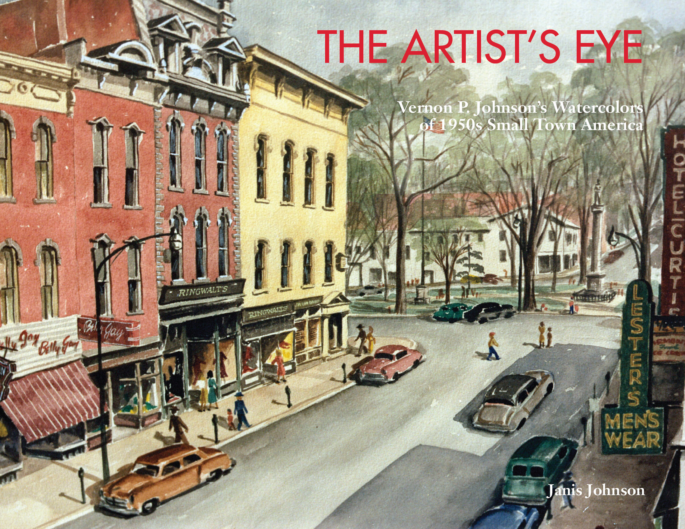 The artist 39 s eye blog 1950s small town america Smallest city in america