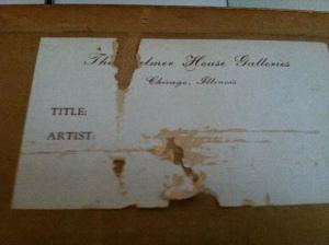 Palmer House signature